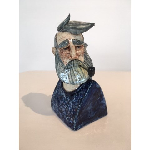 Fisherman 5 by Joe Lawrence at the Saffron Walden Gallery
