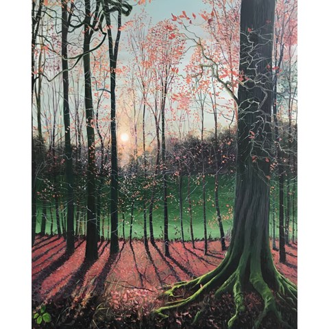 Strong Roots by Debbie Baxter at the Saffron Walden Gallery
