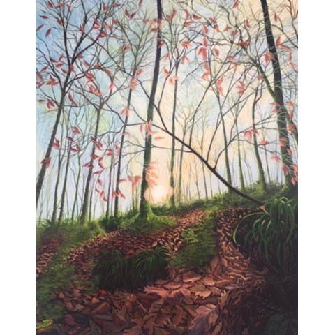Heart of the Wood by Debbie Baxter at the Saffron Walden Gallery