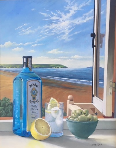 A Room with a View by Peter Kotka at the Saffron Walden Gallery