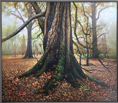 Mature Chestnut Audley End by Daniel Hutchings at the Saffron Walden Gallery