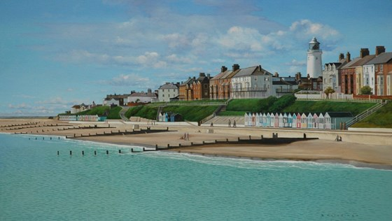 Southwold Revisited by Daniel Hutchings at the Saffron Walden Gallery
